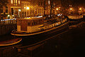 Barges in Amsterdam