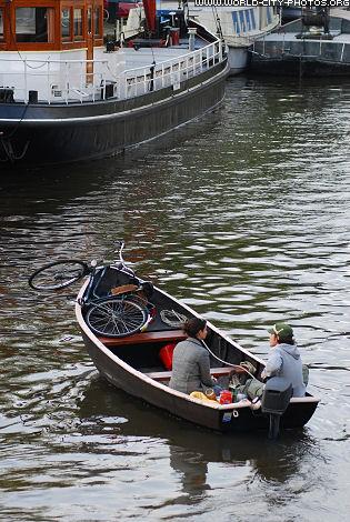 Romantic evening in Amsterdam