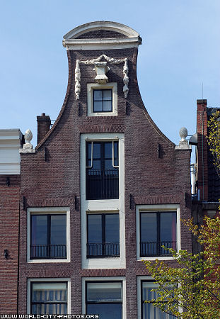 Amsterdam, front of building