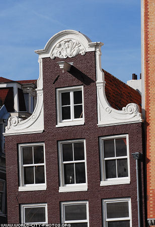 Building front, Amsterdam