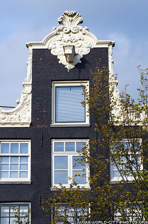 Fronts of houses, Amsterdam