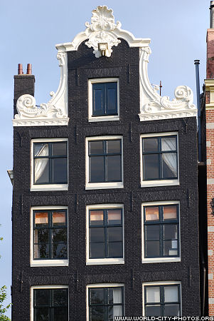 Front of building Amsterdam