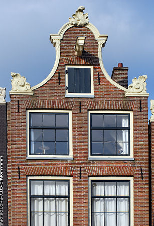 Front of building in Amsterdam