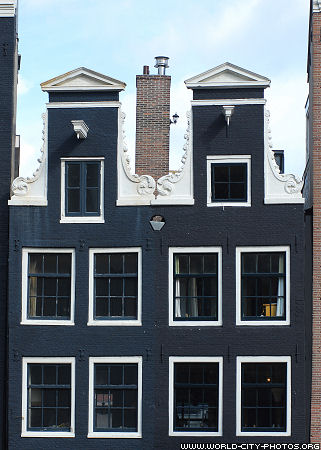 Photos Of House Front Fronts Of Houses In Amsterdam