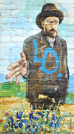 Van Gogh - Graffiti in Amsterdam
