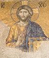 Mosaic in Hagia Sophia, Istanbul