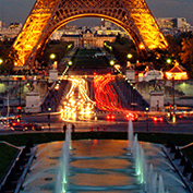 Eiffel Tower - lights