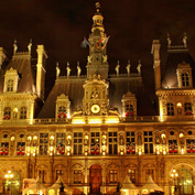 Night in Paris - The Hotel de Ville
