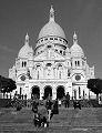 The Basilica of the Sacre Coeur