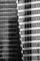 Black and white photography of La Defense