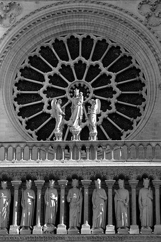 Paris - Catedral Notre Dame - Portal