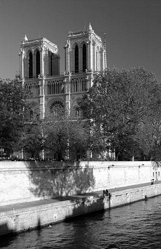 Paris - Notre Dame and Seine river
