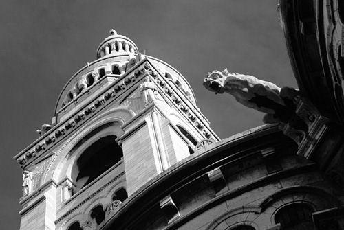 The Sacre Coeur Basilica - Montmartre
