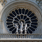 Images of Notre Dame Cathedral, Paris, France - photo of portal