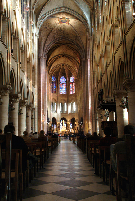 Notre Dame Main Hall