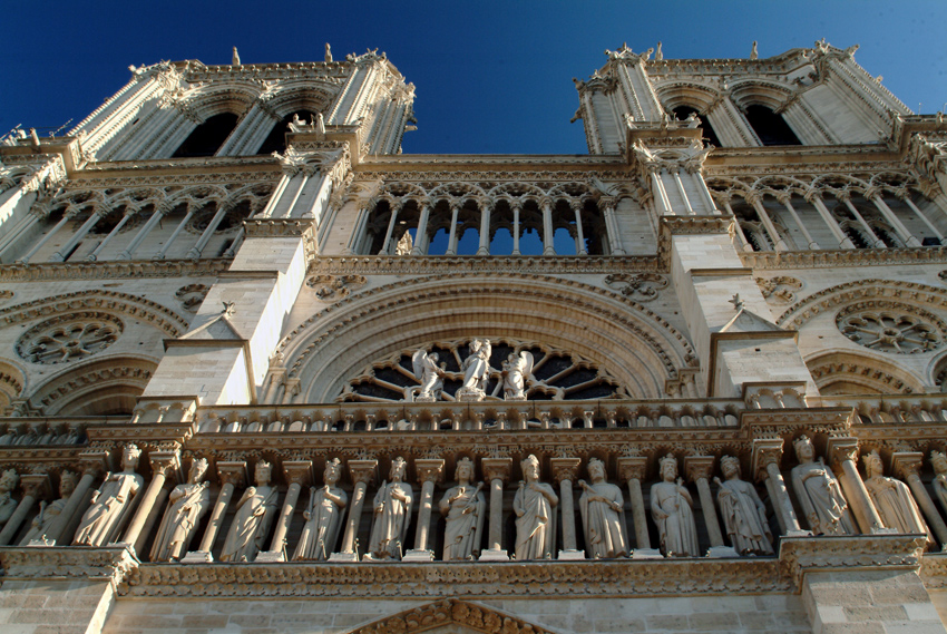 Photos of Notre Dame Cathedral, Paris, France