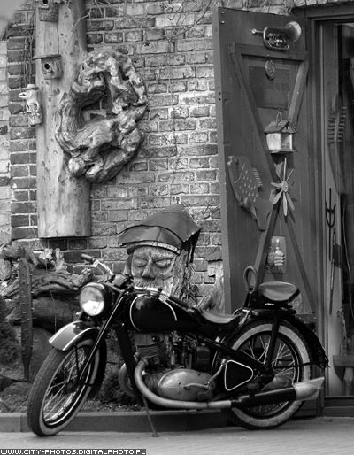 Black And White Vintage Motorcycle Pictures