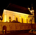 Churche in Vilnius by night