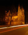Vilnius St Ann\'s Church by night